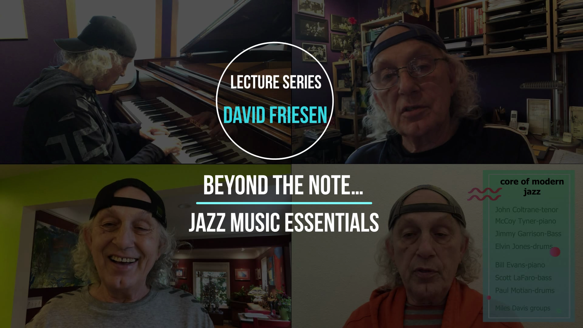 Beyond The Note: Jazz Music Essentials – #1 Learning to Follow the Music in a Small Ensemble Context